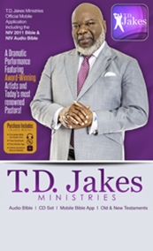 NIV Live T D  Jakes Ministries Audio Bible and Mobile App